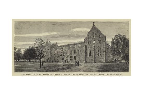 the-recent-fire-at-maynooth-college-view-of-the-building-on-the-day-after-the-catastrophe