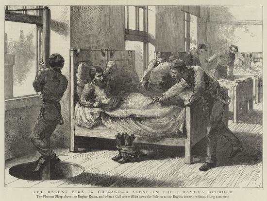 the-recent-fire-in-chicago-a-scene-in-the-firemen-s-bedroom