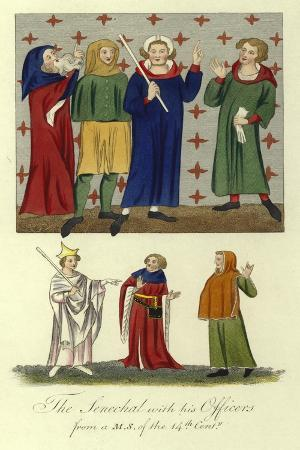 the-senechal-with-his-officers-14th-century