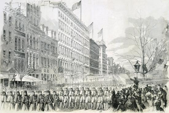 the-seventh-regiment-leaving-for-the-front-crossing-broadway-in-new-york-from-harper-s-weekly