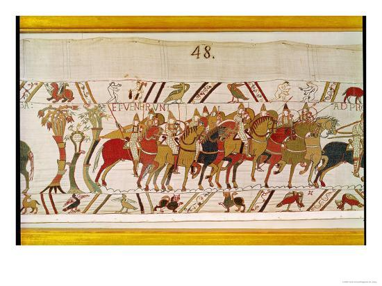 the-soldiers-leaving-hastings-to-do-battle-with-harold-detail-from-bayeux-tapestry-before-1082