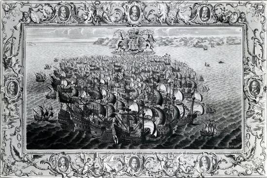 the-spanish-armada-published-by-john-pine-1739