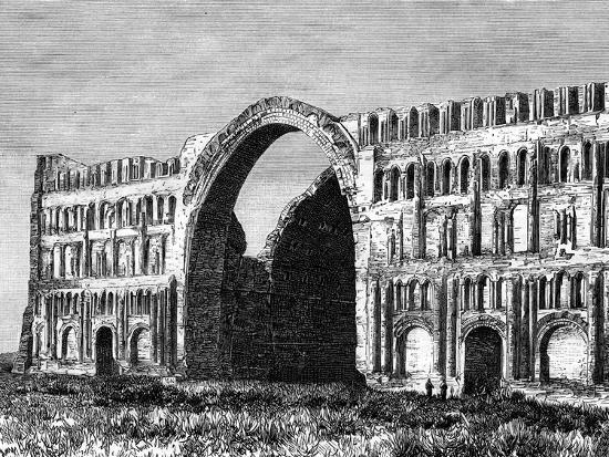 the-taq-i-kisra-ctesiphon-iraq-19th-century