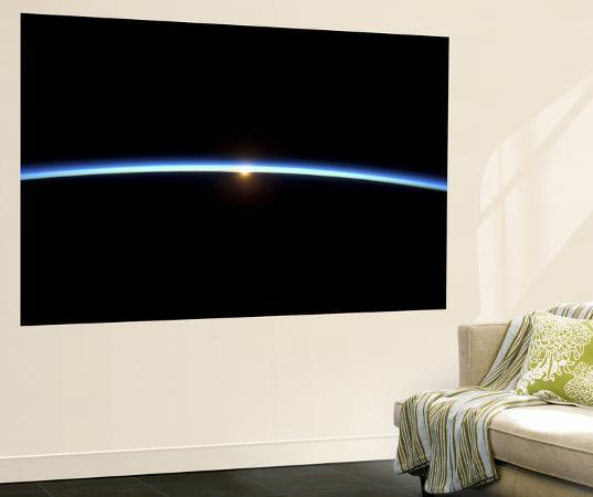 the-thin-line-of-earth-s-atmosphere-and-the-setting-sun