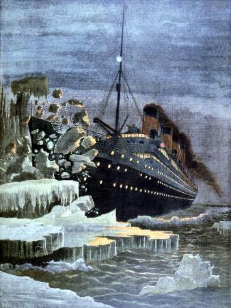 the-titanic-colliding-with-an-iceberg-1912