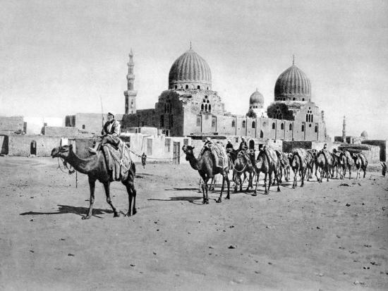 the-tombs-of-the-califs-cairo-egypt-c1920s