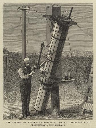 the-transit-of-venus-an-observer-and-his-instruments-at-grahamstown-new-zealand