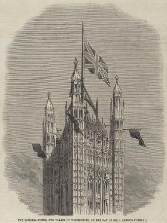 the-victoria-tower-new-palace-of-westminster-on-the-day-of-sir-c-barry-s-funeral