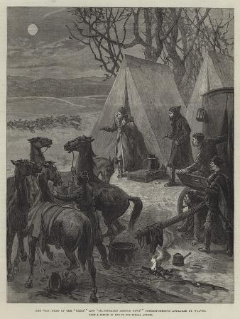 the-war-camp-of-the-times-and-illustrated-london-news-correspondents-attacked-by-wolves