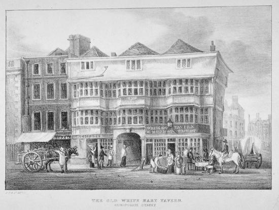 the-white-hart-inn-bishopsgate-city-of-london-1825
