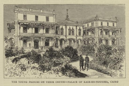 the-young-princes-on-their-cruise-palace-of-kasr-en-noussha-cairo