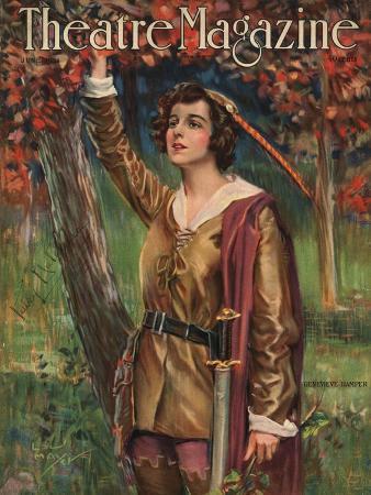 theatre-magazine-robin-hood-magazine-usa-1924