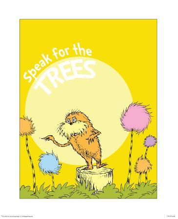 theodor-dr-seuss-geisel-the-lorax-speak-for-the-trees-on-yellow