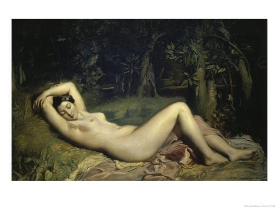 theodore-chasseriau-nymphe-endormie