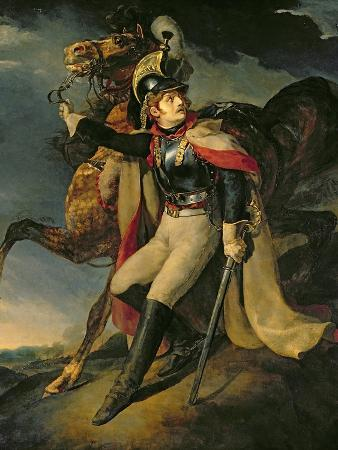 theodore-gericault-the-wounded-cuirassier-1814