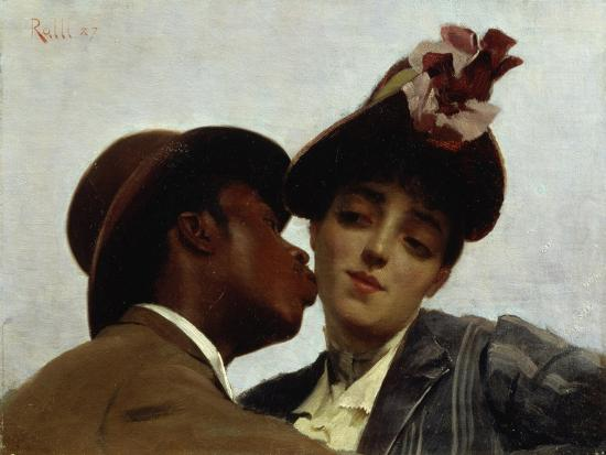 theodore-jacques-ralli-the-kiss-1887