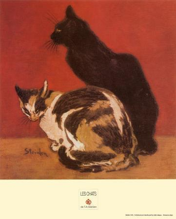 theophile-alexandre-steinlen-cats-1910