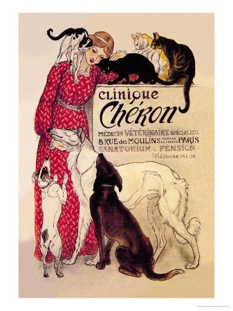 theophile-alexandre-steinlen-clinique-cheron-veterinary-medicine-and-hotel