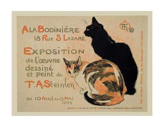 theophile-alexandre-steinlen-exposition-at-bodiniere