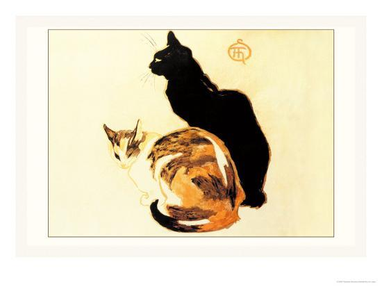 theophile-alexandre-steinlen-les-chats
