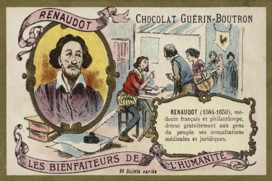 theophraste-renaudot-french-physician-and-philanthropist