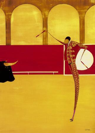 thierry-ona-bullfighter-and-bull-ii