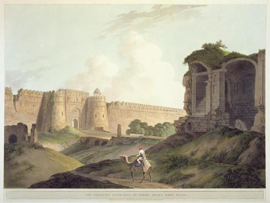 thomas-daniell-the-western-entrance-of-shere-shah-s-fort-delhi