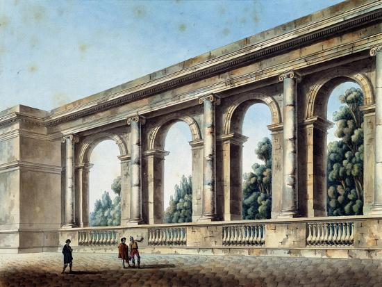 thomas-de-thomon-view-of-an-arched-gallery-c1791-c1794