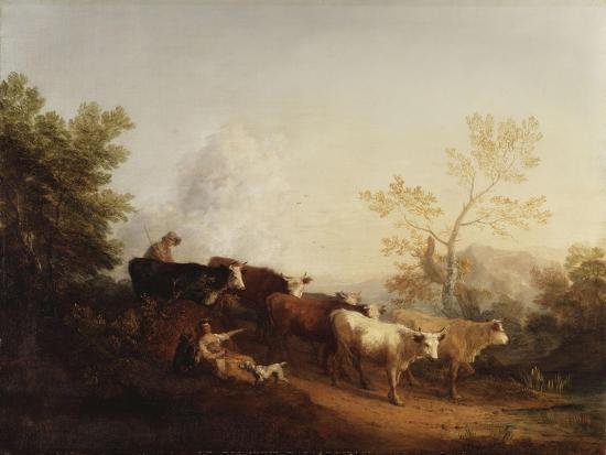 thomas-gainsborough-evening-a-landscape-with-cattle-returning-home