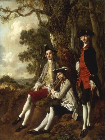 thomas-gainsborough-portrait-of-peter-darnal-muilman-charles-crockatt-and-william-keeble