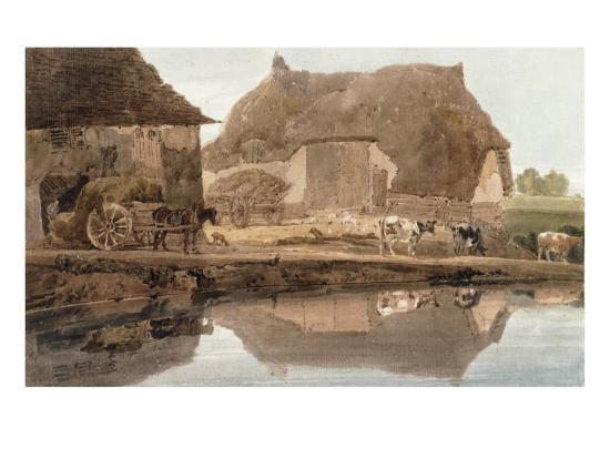 thomas-girtin-a-farmyard-with-cattle-and-poultry-and-labourers-unloading-hay