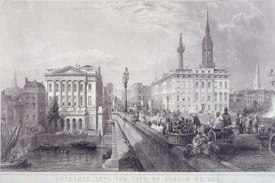 thomas-higham-london-bridge-london-c1840