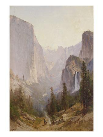 thomas-hill-yosemite-waterfall
