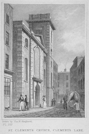 thomas-hosmer-shepherd-church-of-st-clement-eastcheap-city-of-london-1831