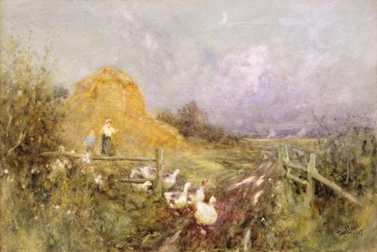 thomas-james-lloyd-driving-geese-early-evening-1907