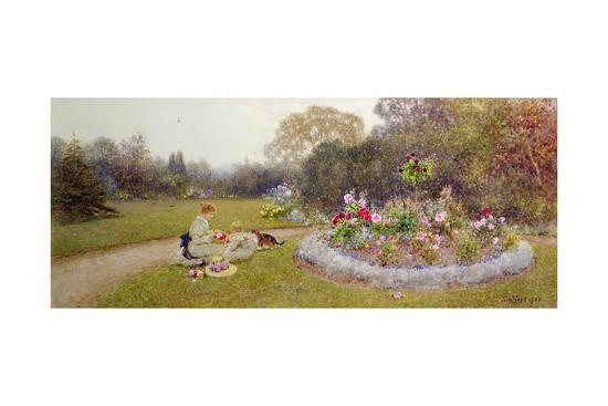 thomas-james-lloyd-the-rose-garden-1903