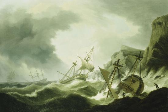 thomas-luny-a-shipwreck