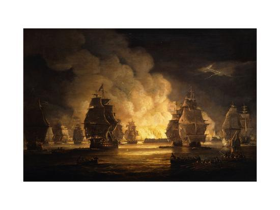 thomas-luny-the-battle-of-algiers-the-bombardment