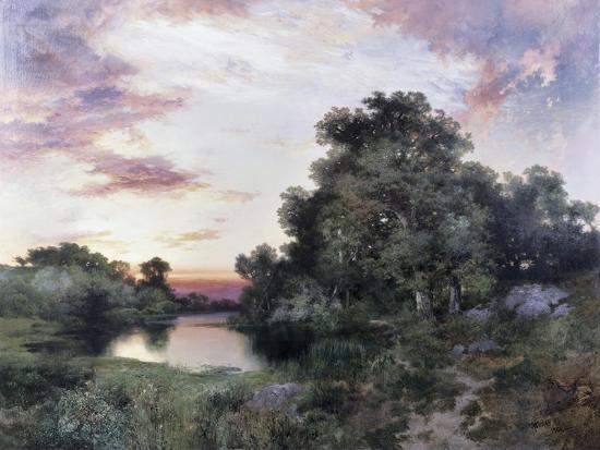 thomas-moran-sunset