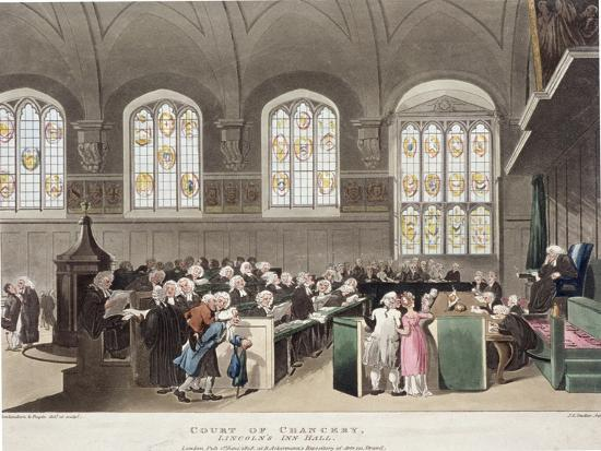 thomas-rowlandson-lincoln-s-inn-holborn-london-1808