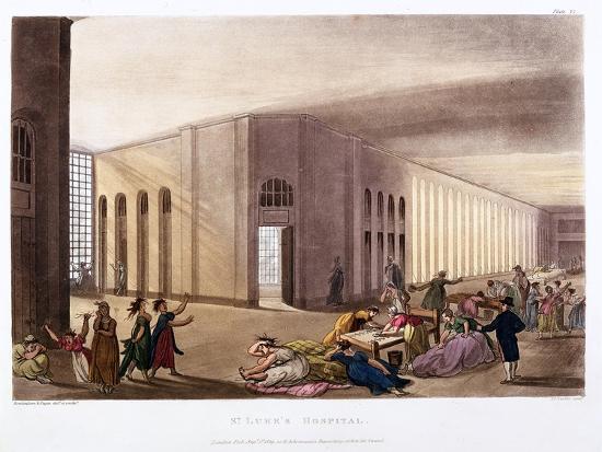 thomas-rowlandson-st-luke-s-hospital-old-street-london-1808-1811