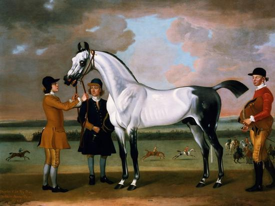 thomas-spencer-the-duke-of-bolton-s-starling-with-a-jockey-and-groom-at-newmarket-1734