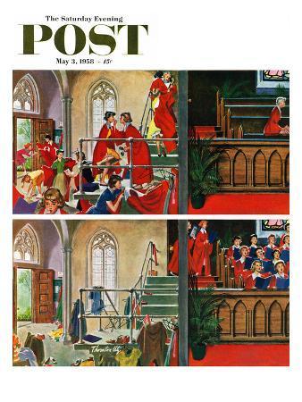 thornton-utz-women-s-choir-saturday-evening-post-cover-may-3-1958