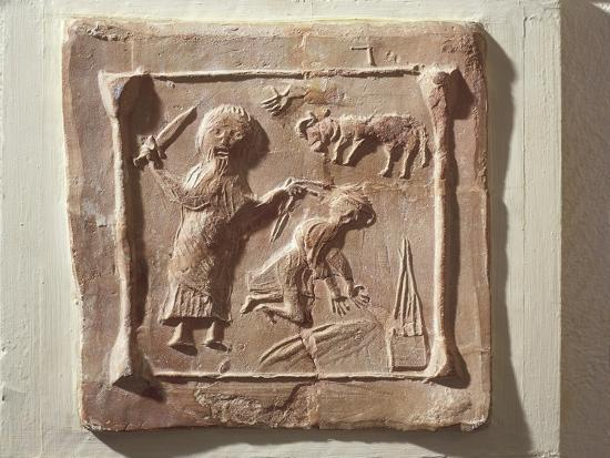 tile-depicting-abraham-and-the-sacrifice-of-isaac-from-the-walls-of-a-christian-basilica