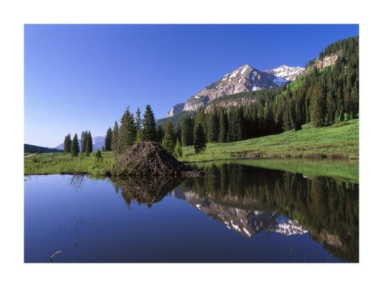 tim-fitzharris-gothic-mountain-and-beaver-lodge-near-crested-butte-colorado