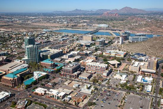 downtown tempe photographic print by tim roberts