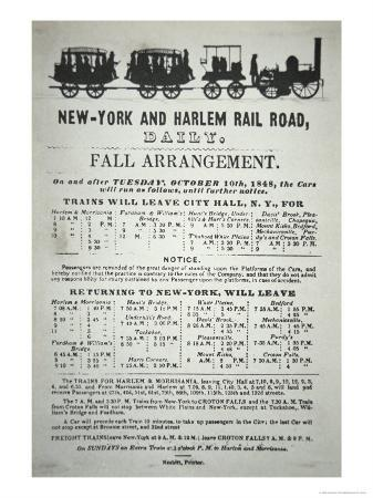 timetable-for-the-new-york-and-harlem-rail-road-1848