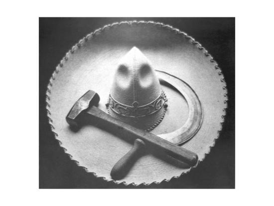 tina-modotti-mexican-revolution-sombrero-with-hammer-and-sickle-mexico-city-1927