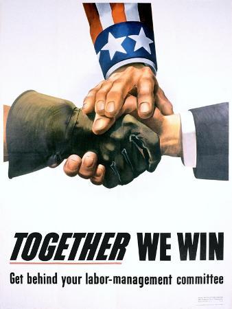 together-we-win-labor-management-poster