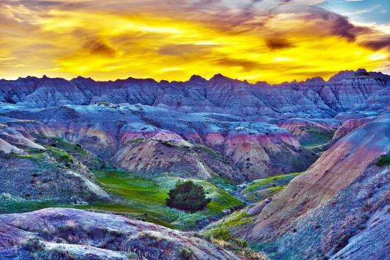 tomasz-zajda-hdr-sunset-in-the-badlands